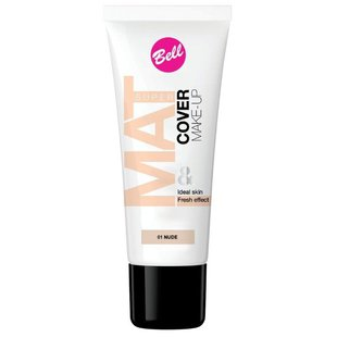 Bell Тональный флюид Super Mat Cower Make-up Foundation 30 мл