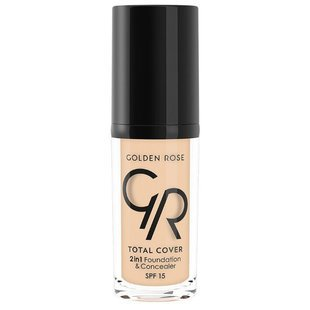 Golden Rose Тональный крем Total Cover 2in1 Foundation & Concealer 30 мл